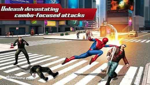 تحميل لعبة سبايدر مان 2 مجانا للاندرويد The Amazing Spider Man 2 Spider Man 2 Man Spiderman