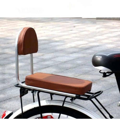 Bicycle Seat Saddle Brown Large Comfort Adjustable Back Rest Beach Cruiser Bike