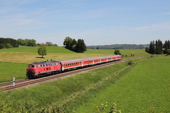 Bahnbilder, bei denen uns das Fotografieren Spaß machte - Bahnamateurbilder.startbilder.de