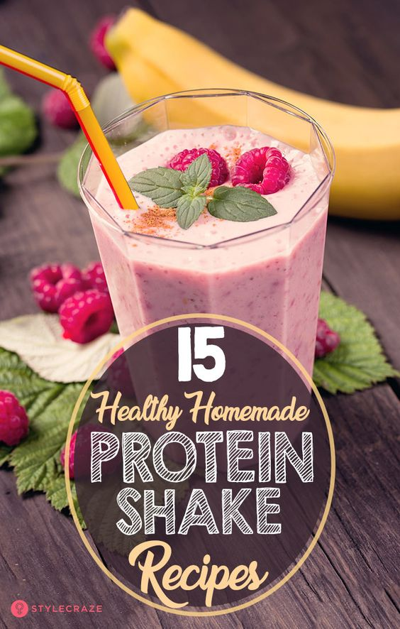 15 Homemade Protein Shakes – Healthy & Tasty 5-Min Recipes
