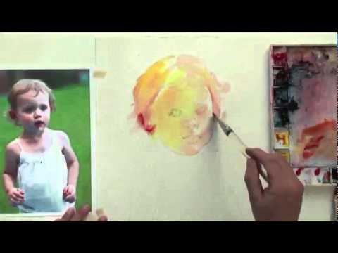 ▶ Watercolor with Lian Quan Zhen: Figures - YouTube