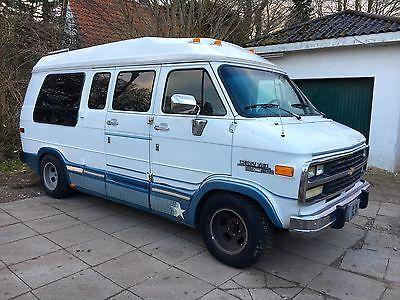 Chevrolet Chevy Van G20 5.7 Starcraft LPG Gasanlage als Van/Kleinbus in Norderstedt - nähe Hamburg Airport
