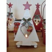 White Tree Tealight Holder www.dressmyhome.ie