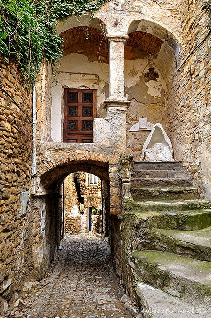 Liguria...costal towns, rest, relaxation, old stone work...