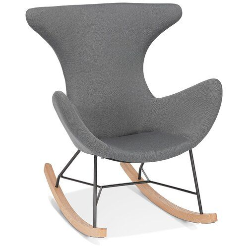 De Egg Chair.Schaukelstuhl Syracuse Ebern Designs Design Rocking Chair Egg