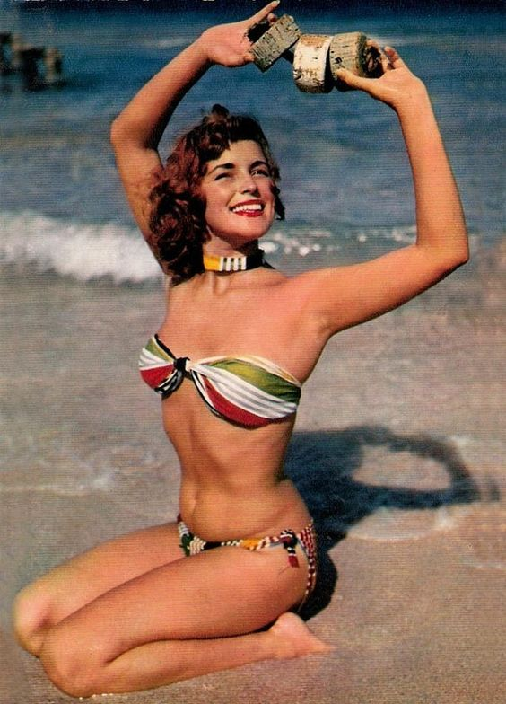 History of fashion swimwear