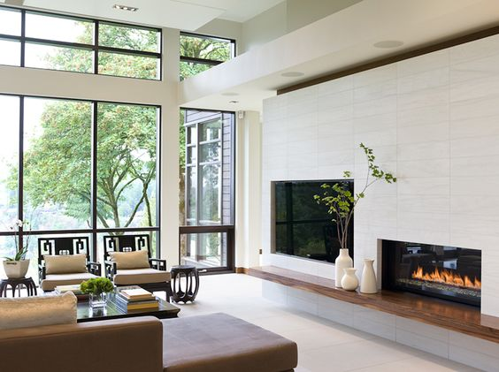 FIREPLACE WALL FIRM Reveal Architecture