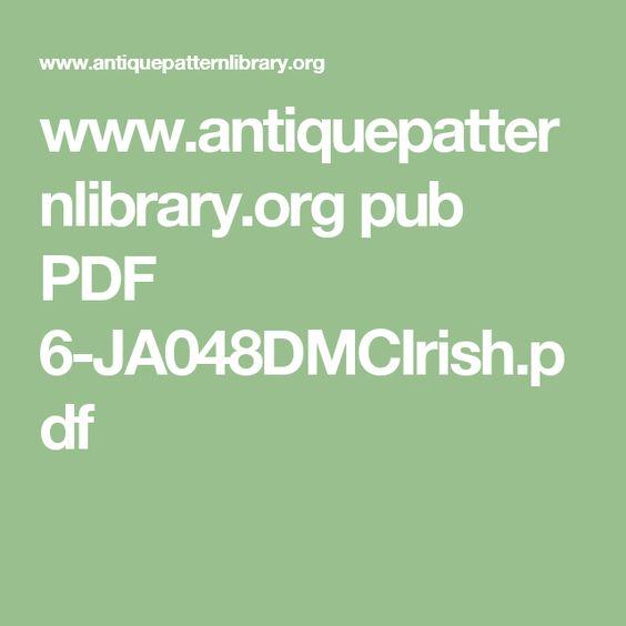www.antiquepatternlibrary.org pub PDF 6-JA048DMCIrish.pdf