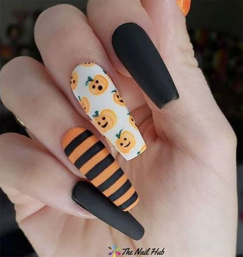Halloween Nails 2020 Google Search In 2020 Cute Halloween Nails Halloween Acrylic Nails Holloween Nails