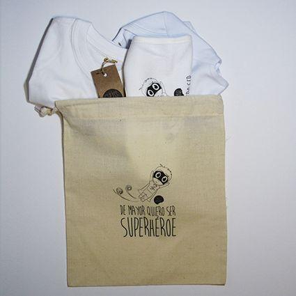 #Pack nacimiento #superheroe #body #camiseta #babero #infantil #diseño #personalizado @chussbarranco