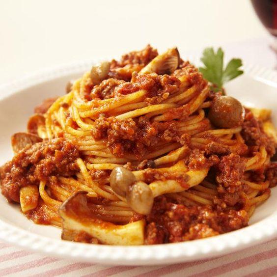 美味しそうなトマトチーズパスタ・スパゲッティー