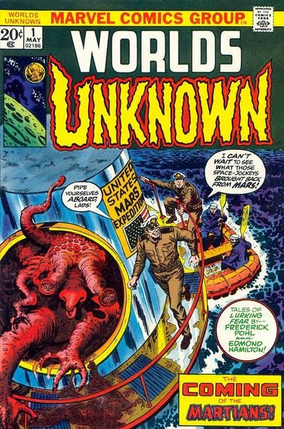 "Marvel Comics' Worlds Unknown #1, featuring, ""He That Hath Wings."""