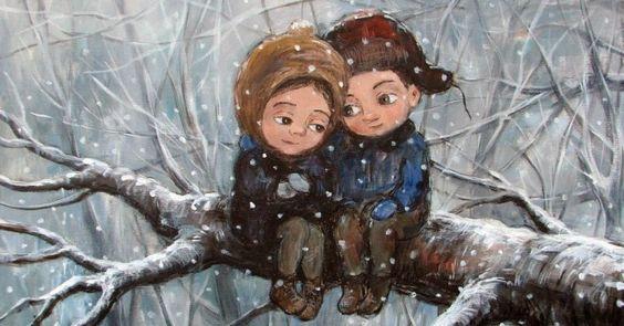 «— Что происходит насвете? —Апросто зима»