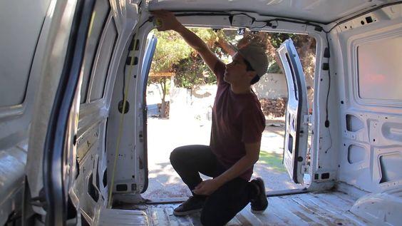 How to Convert your Van into Camper