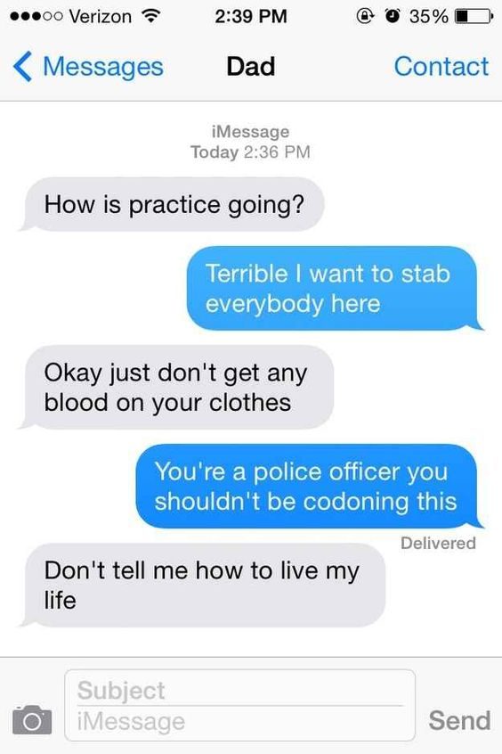 This helpful dad... | 29 Parents Who Are Clearly Way Better At Texting Than Their Kids