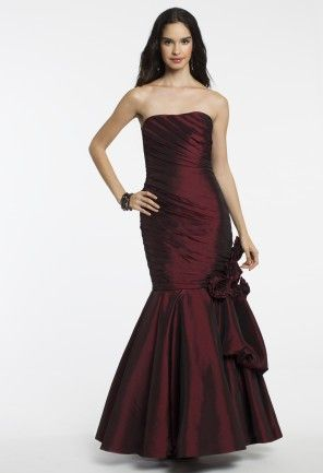 Strapless Taffeta Dress from Camille La Vie and Group USA: Long Dresses, Holiday Parties, Bridesmaids Style, Prom Dress 2014, Taffeta Dress, Dress Long, Prom Dresses