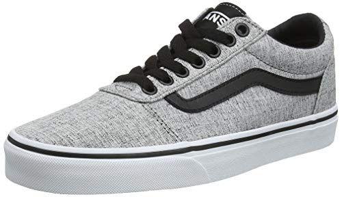 Vans Herren Ward Canvas Sneaker Grau Textile GrayWhite Qoq