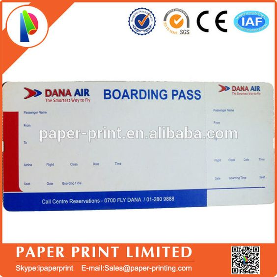 saudia airlines ticket paper boarding pass printing Packaging - printable ticket paper