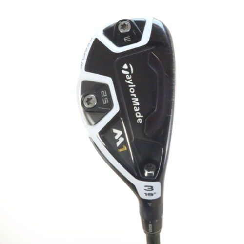 2016 TaylorMade M1 3 Rescue 19 degrees Fujikura Pro 80h Stiff flex 27025