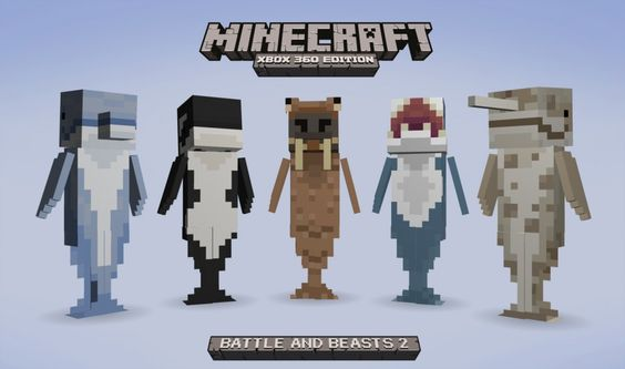 Minecraft Battle And Beasts Skin Pack 2 Announced For Xbox 360