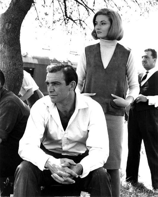 Sean Connery and Daniela Bianchi (From Russia With Love - 1963) - literally the most handsome man who ever lived!