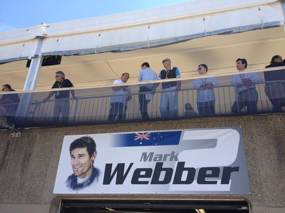 And Mr Webber's.