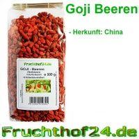 Goji Beeren - Natural - getrocknet - ungeschwefelt - 500g