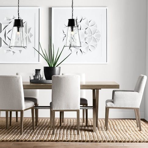 Robinson Clear Glass Large Pendant Bronze Luxury Dining Room Dining Room Inspiration Dining Room Remodel Bronze decorations for dining room