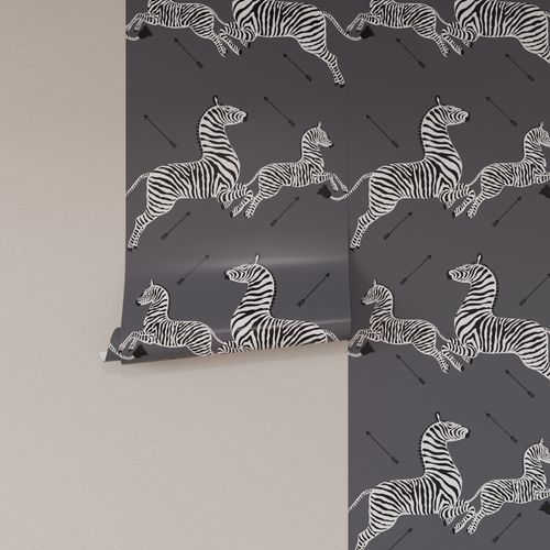 You Can Finally Bring This Iconic Zebra Wallpaper Home Thanks To The Inside Zebra Wallpaper Wallpaper Roll Peel And Stick Wallpaper