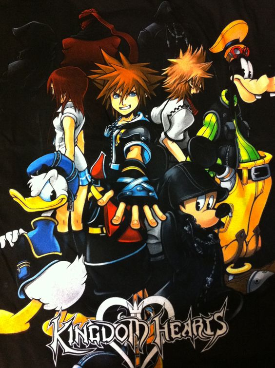 My kingdom hearts shirt I bought yesterday
