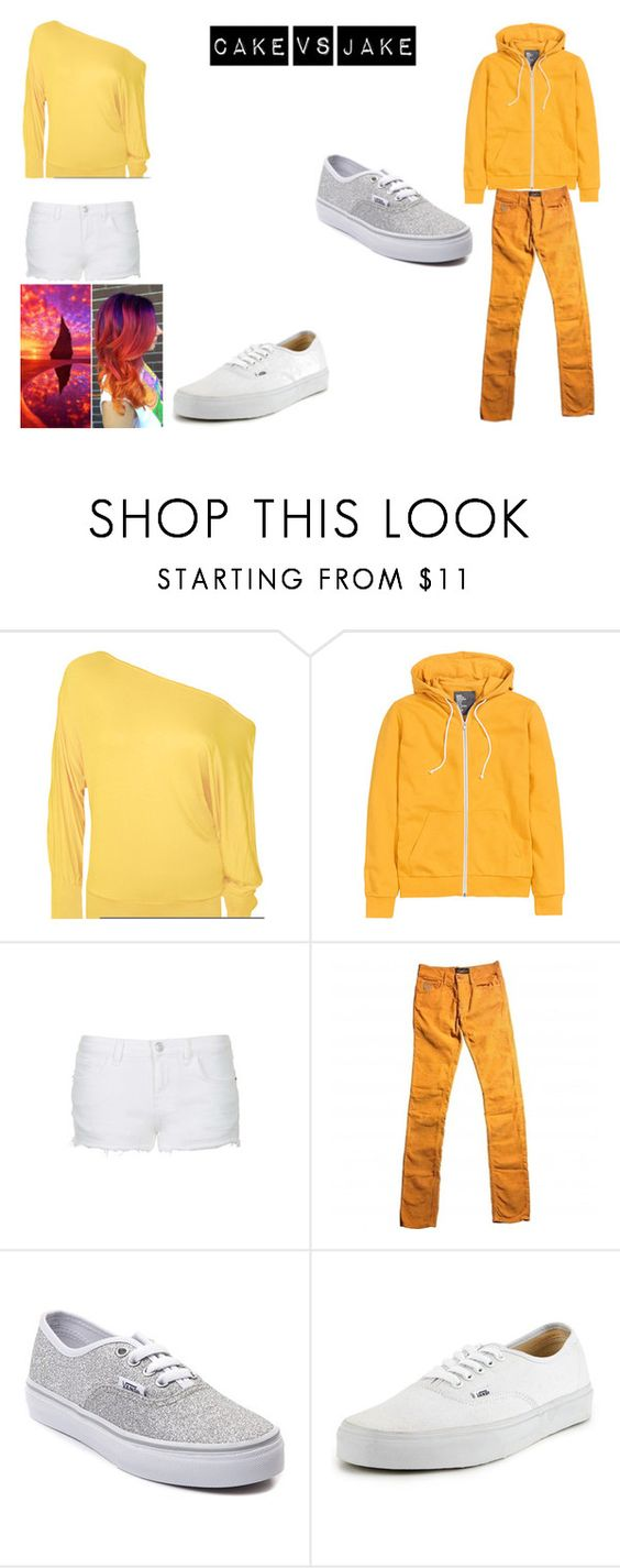 """""""Cake VS Jake"""" by fashioncat32 on Polyvore featuring WearAll, H&M, Topshop, April 77, Vans, women's clothing, women's fashion, women, female and woman"""