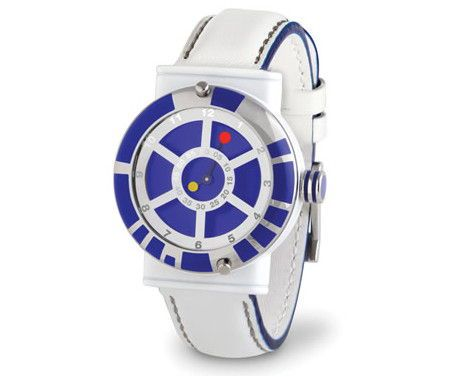 R2-D2 Wristwatch tells the time as it is, galactic style