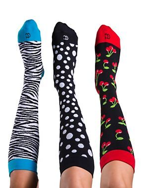 Compression Socks - Fun Patterned Socks | Solutions. They might as we'll be cute, I will probably have to wear these one day!!!