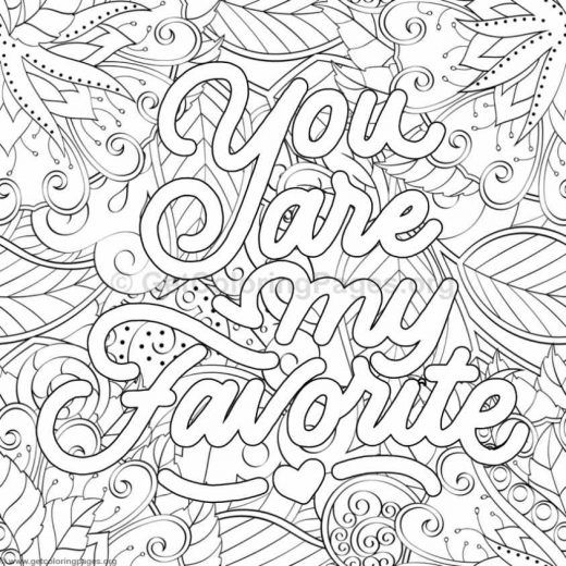 Funny Quote Coloring Pages Page 11 Getcoloringpages Org