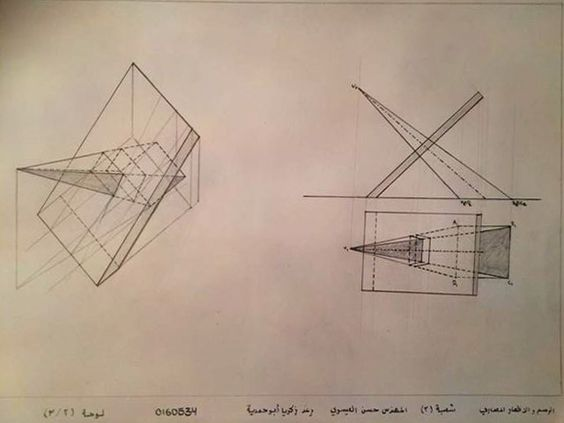 Raghad Zakariaالرسم والاظهار المعماري: