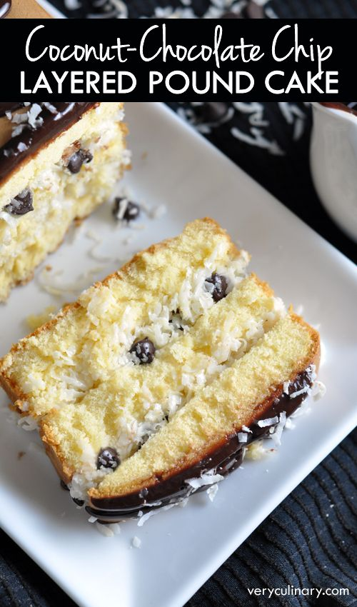 chocolate coconut easy desserts chocolate chip pound cake chocolate ...