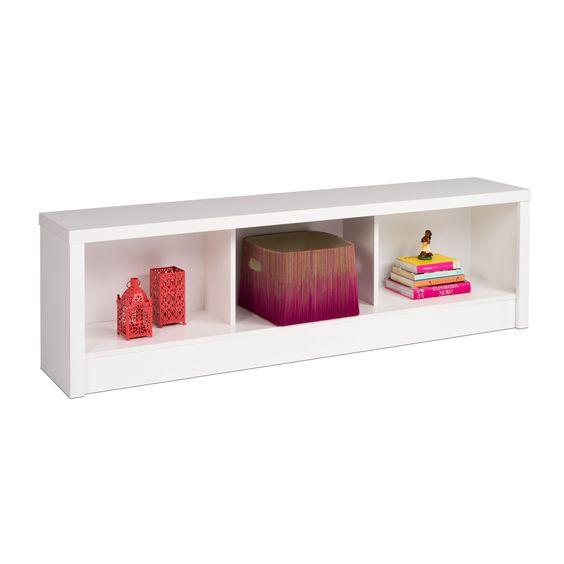 Prepac Nolita Pure Storage Bench