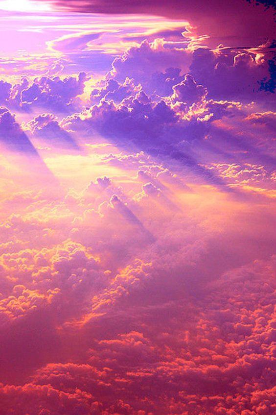 The heavens: