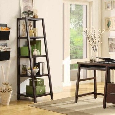 Garrison Ladder Bookcase - Item # GRSLBK- from Bayside Furnishings (brand carried by Costco ...