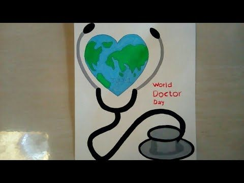 how to make doctor day poster world