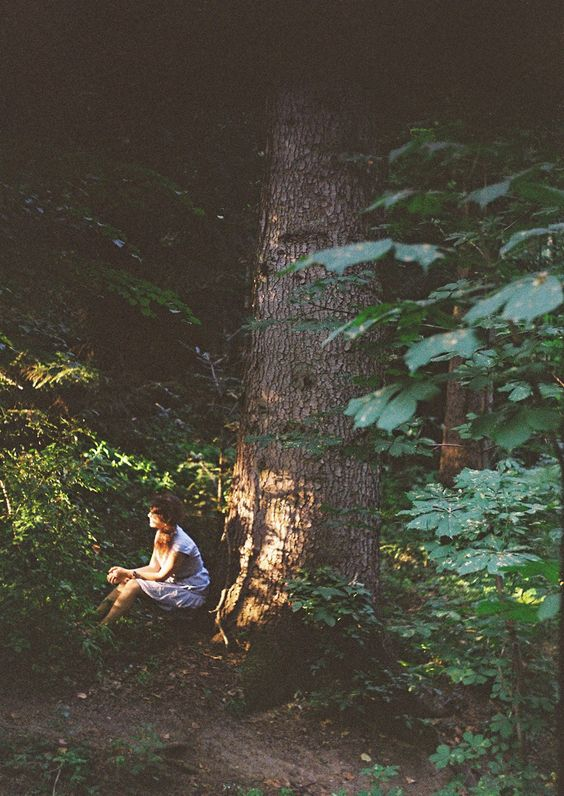 """The forest and I was all there was.  In the deep still silence I could feel the Earth's beating heart.""  Author unknown"