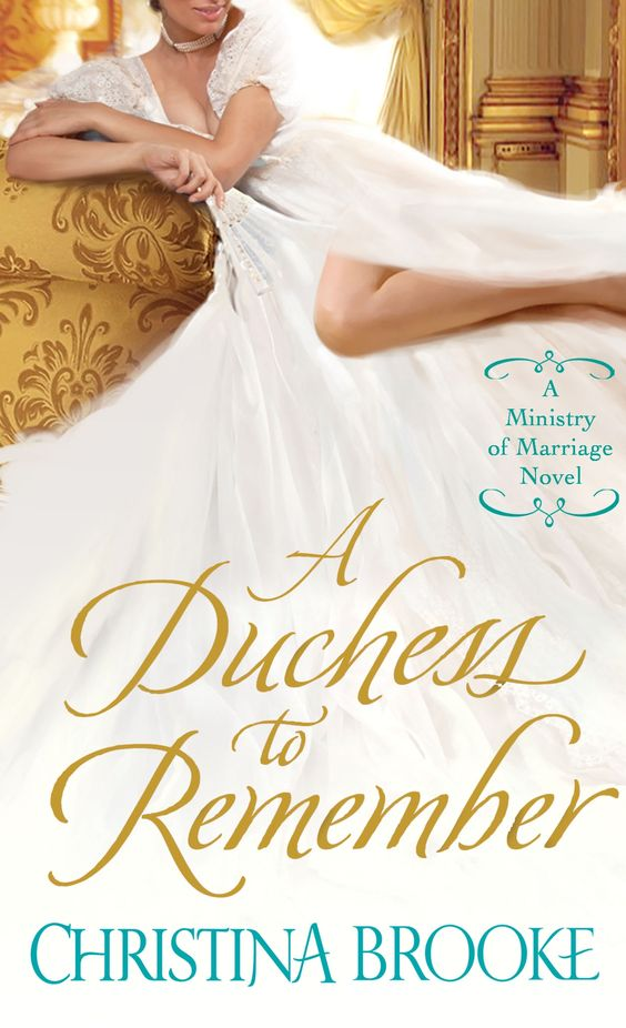 Christina Brooke - A Duchess to Remember / #awordfromJoJo #HistoricalRomance #ChristinaBrooke