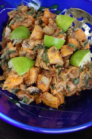 Almond Butter Coconut Sweet Potato Curry