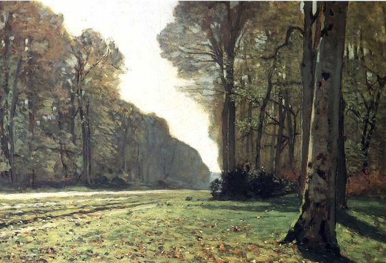 Claude Monet - Le Pavé De Chailly [1907x1305]