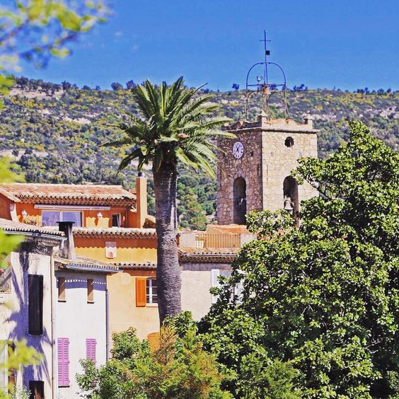 Le #PlandelaTour the cutest #provencal #village of the Bay of #StTropez   by e…