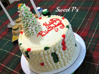 Sweet P's Cake Decorating & Baking Blog: O Christmas Tree!