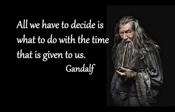 Uplifting gandalf quotes