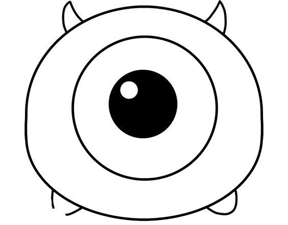 Disney Tsum Tsum Para Colorear Mike: Pinterest • The World's Catalog Of Ideas