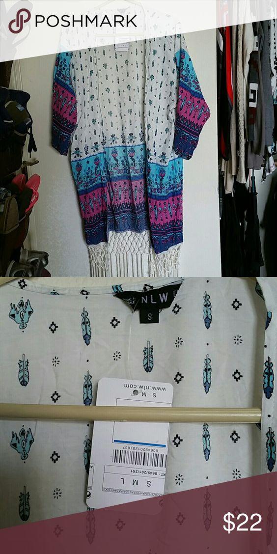 Kimono size small Kimono brand new with tags. Size small NLW Other