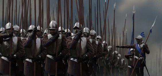 Tercio de Piqueros del Imperio Hisan (Hisanitas, de Hisania)